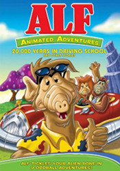 Cover Alf animated series DVD 20,000 years in driving school