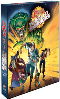 Shout! Factory Cover Jayce and the Wheeled Warriors volume 1 dvd