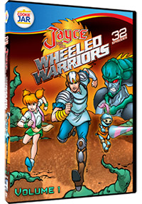 Cover Mill Creek Jayce and the Wheeled Warriors volume 1 dvd